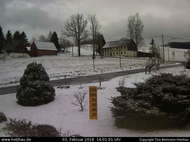 Wetter am 03.02.2018 in Holzhau (Erzgebirge)