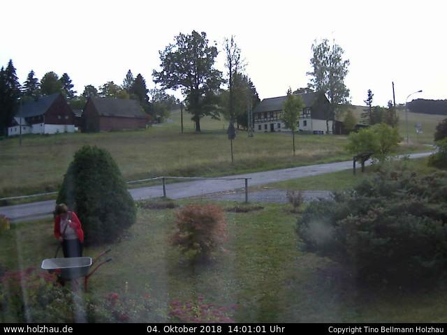 Holzhau Webcam 04.10.2018