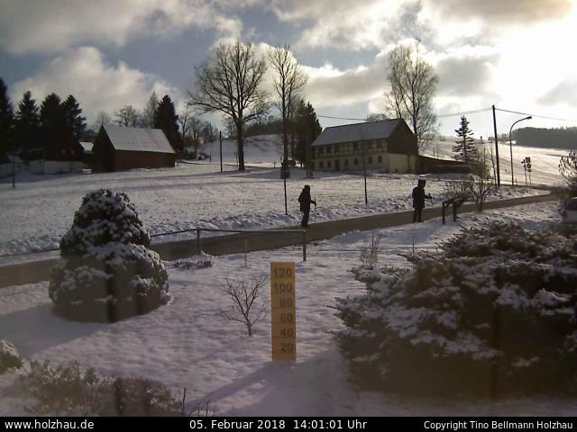 Wetter am 05.02.2018 in Holzhau (Erzgebirge)
