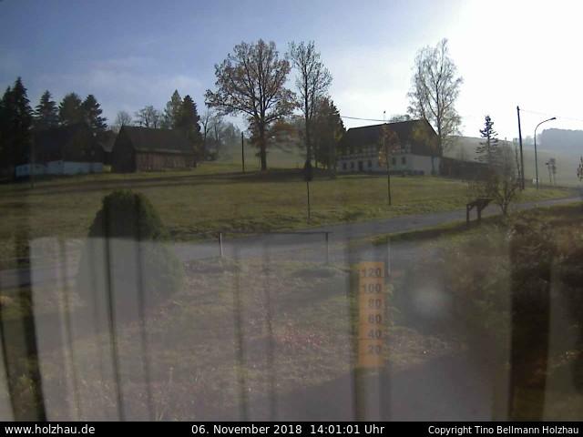 Holzhau Webcam 06.11.2018
