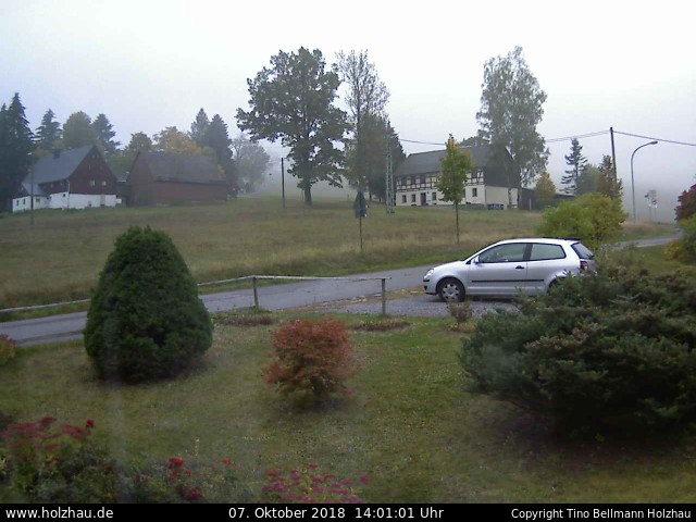 Wetter am 07.10.2018 in Holzhau (Erzgebirge)