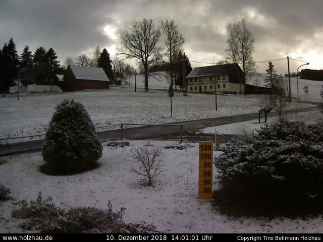 Wetter am 10.12.2018 in Holzhau (Erzgebirge)