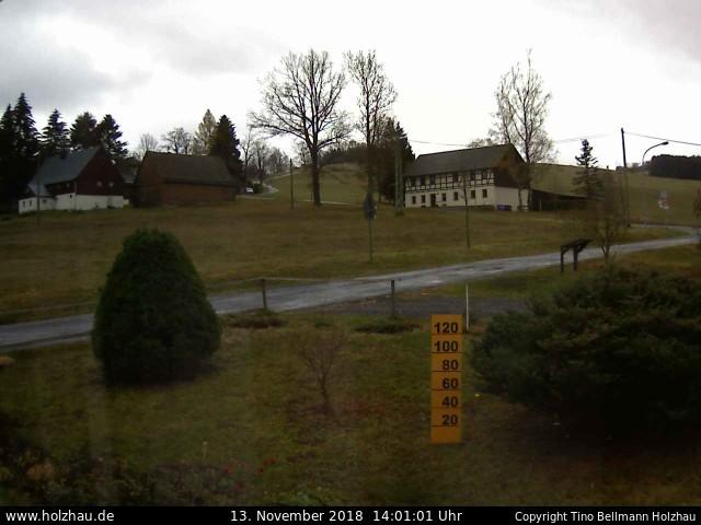 Holzhau Webcam 13.11.2018