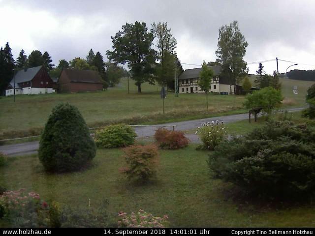 Wetter am 14.09.2018 in Holzhau (Erzgebirge)