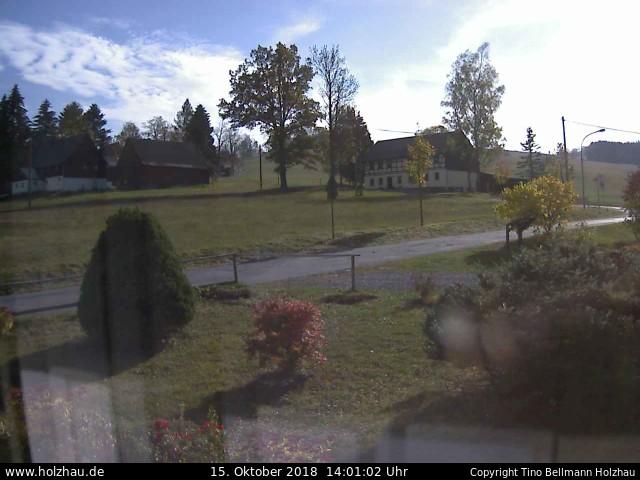 Holzhau Webcam 15.10.2018