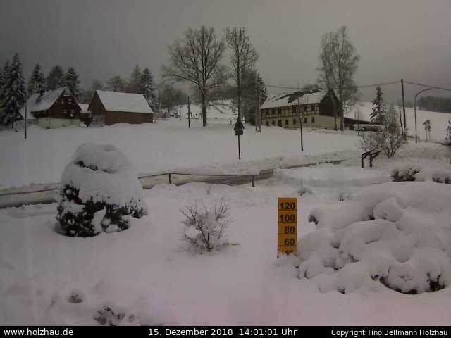 Wetter am 15.12.2018 in Holzhau (Erzgebirge)