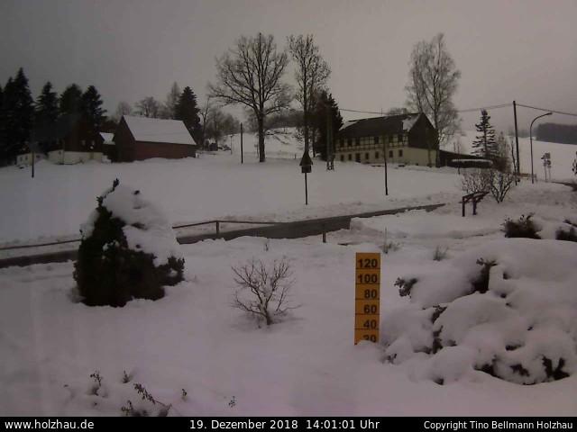 Wetter am 19.12.2018 in Holzhau (Erzgebirge)