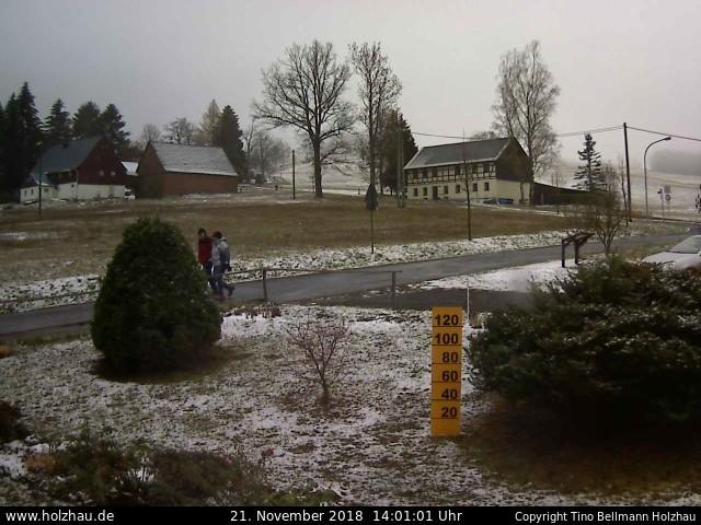 Holzhau Webcam 21.11.2018