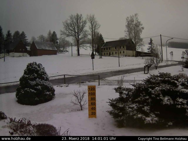 Wetter am 23.03.2018 in Holzhau (Erzgebirge)