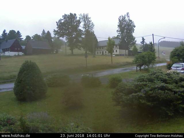 Wetter am 23.06.2018 in Holzhau (Erzgebirge)