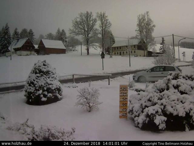 Wetter am 24.12.2018 in Holzhau (Erzgebirge)