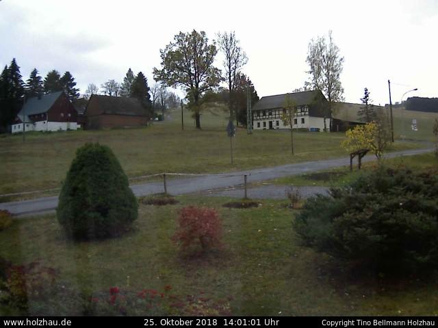 Holzhau Webcam 25.10.2018