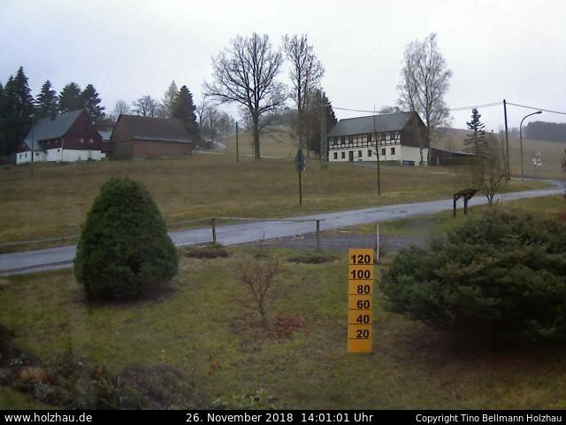Holzhau Webcam 26.11.2018