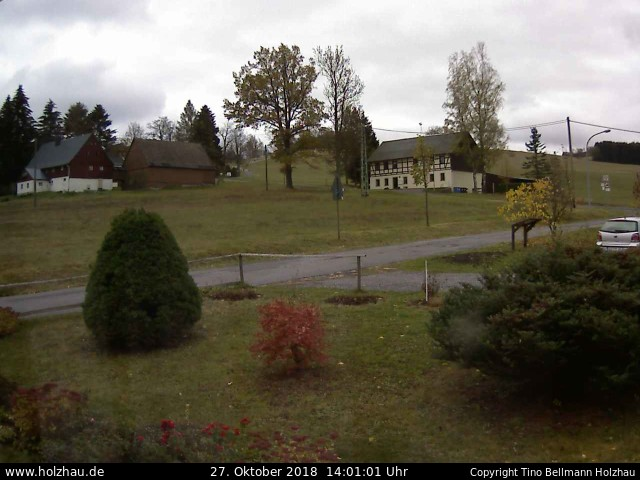 Wetter am 27.10.2018 in Holzhau (Erzgebirge)