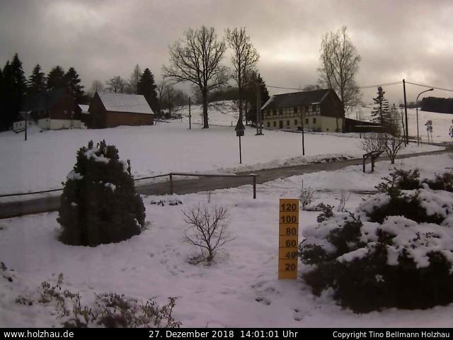 Wetter am 27.12.2018 in Holzhau (Erzgebirge)