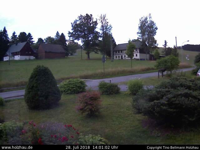 Wetter am 28.07.2018 in Holzhau (Erzgebirge)