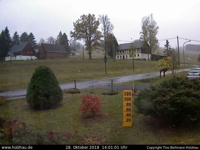Wetter am 28.10.2018 in Holzhau (Erzgebirge)