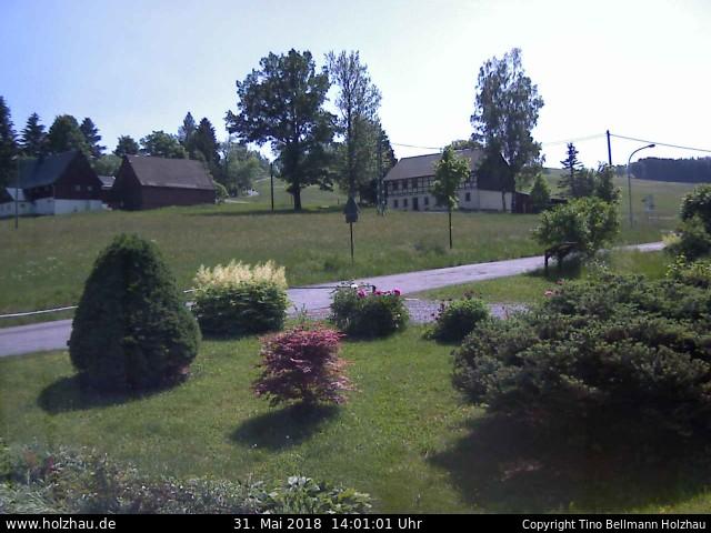 Wetter am 31.05.2018 in Holzhau (Erzgebirge)