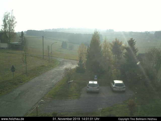 Holzhau Webcam 01.11.2019