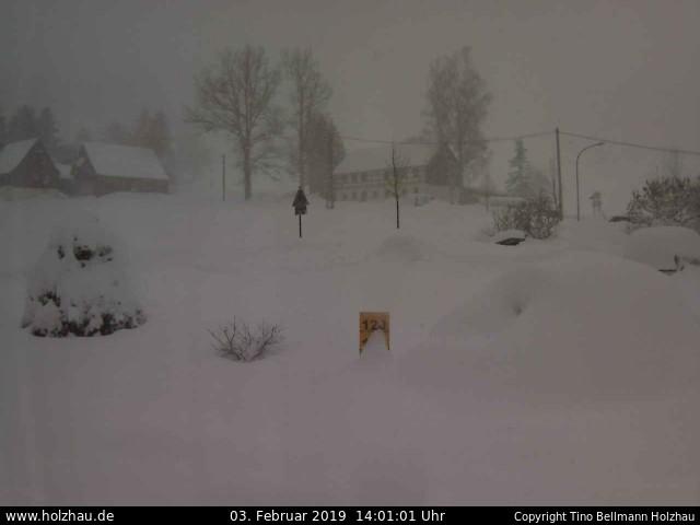 Holzhau Webcam 03.02.2019