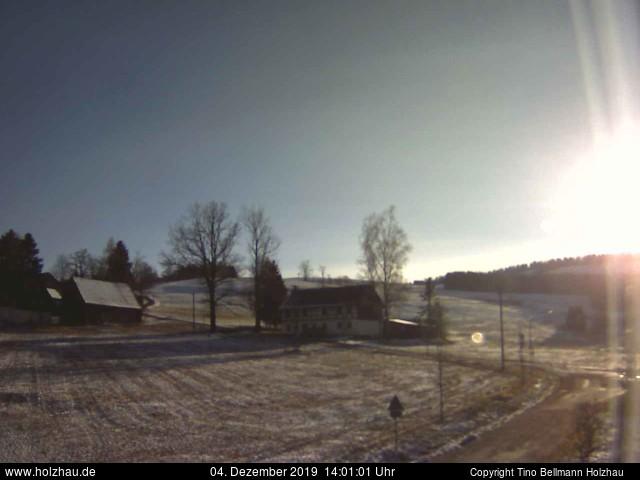 Wetter am 04.12.2019 in Holzhau (Erzgebirge)