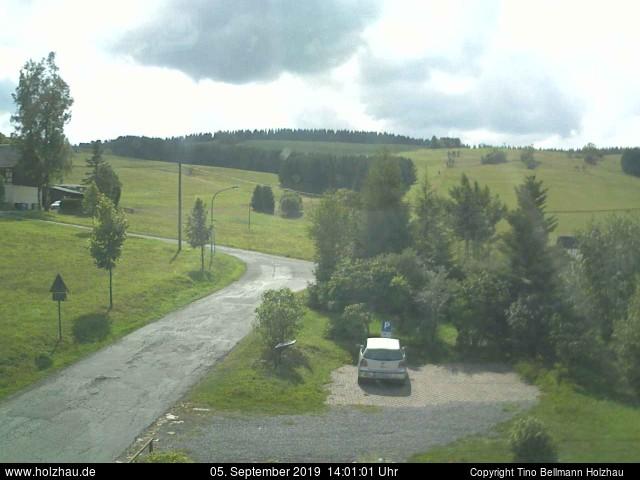 Holzhau Webcam 05.09.2019