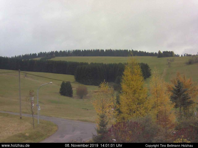 Holzhau Webcam 08.11.2019