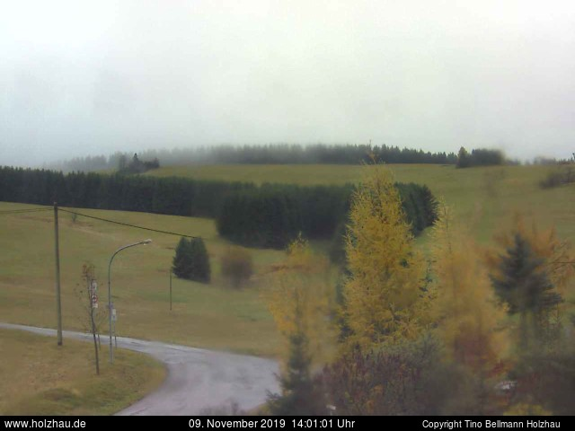 Holzhau Webcam 09.11.2019