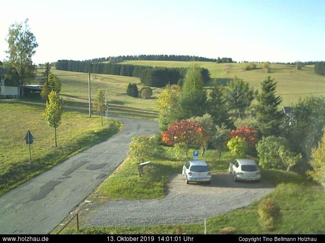 Holzhau Webcam 13.10.2019