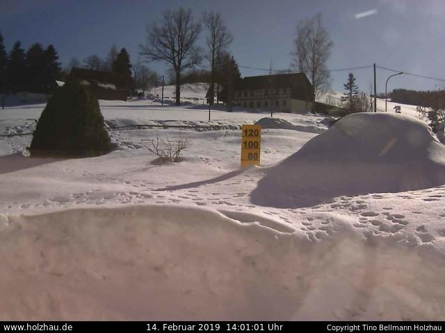 Wetter am 14.02.2019 in Holzhau (Erzgebirge)