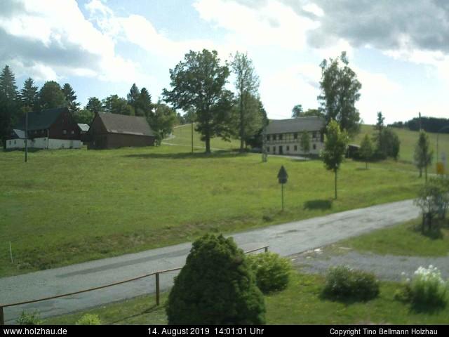 Wetter am 14.08.2019 in Holzhau (Erzgebirge)
