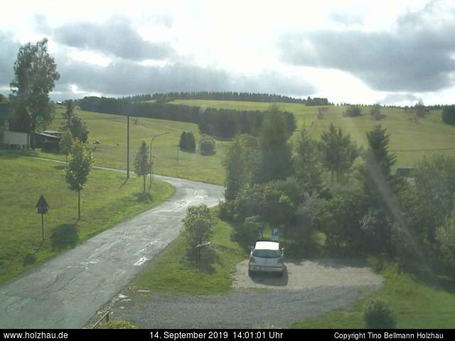 Holzhau Webcam 14.09.2019