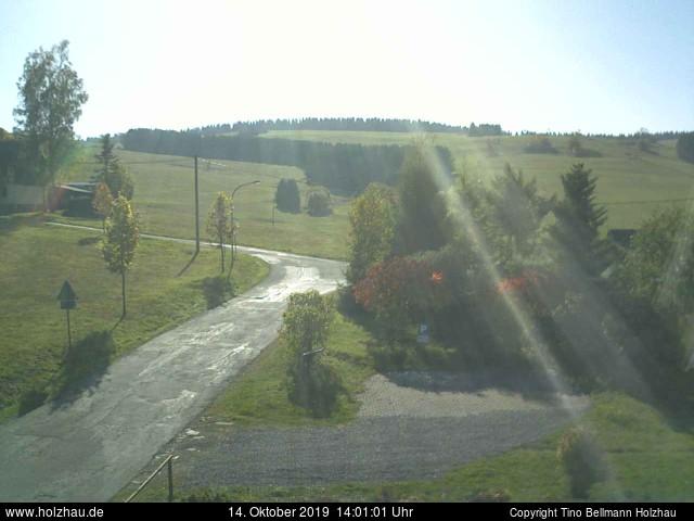 Holzhau Webcam 14.10.2019