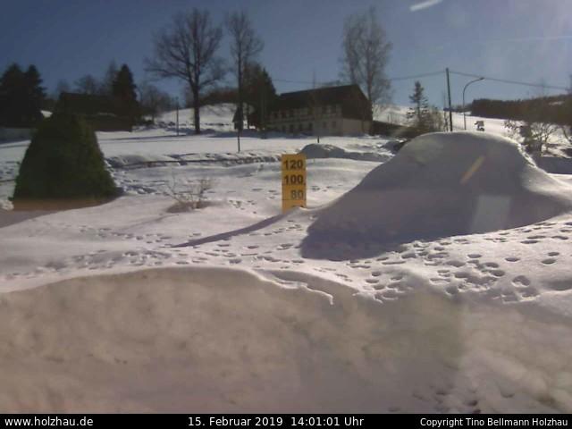 Wetter am 15.02.2019 in Holzhau (Erzgebirge)