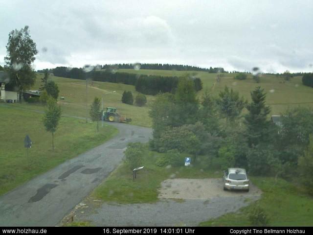 Holzhau Webcam 16.09.2019