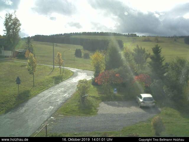 Holzhau Webcam 16.10.2019