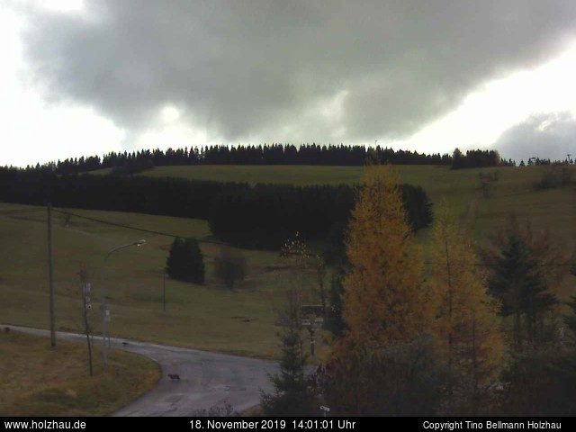 Holzhau Webcam 18.11.2019