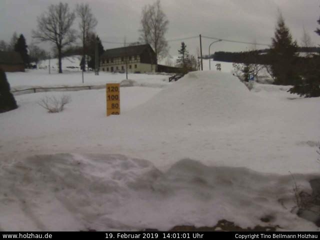 Wetter am 19.02.2019 in Holzhau (Erzgebirge)