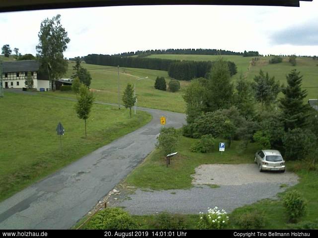 Holzhau Webcam 20.08.2019