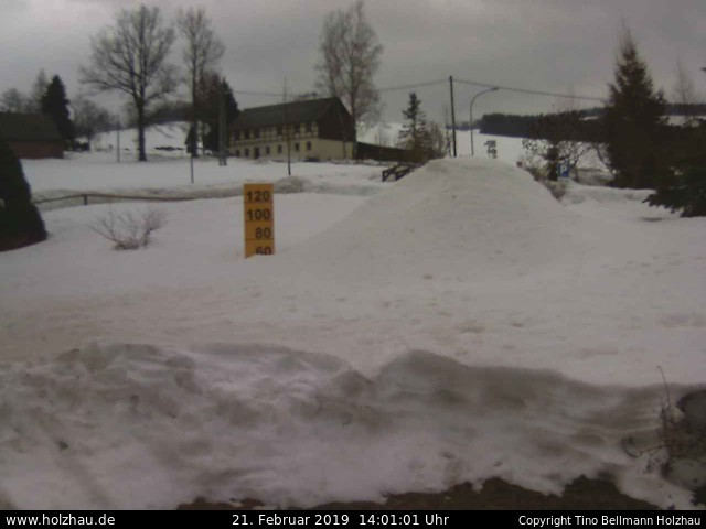 Holzhau Webcam 21.02.2019