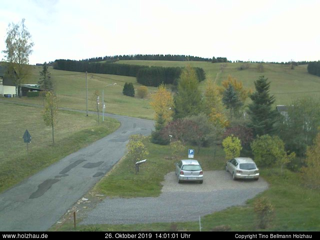 Holzhau Webcam 26.10.2019