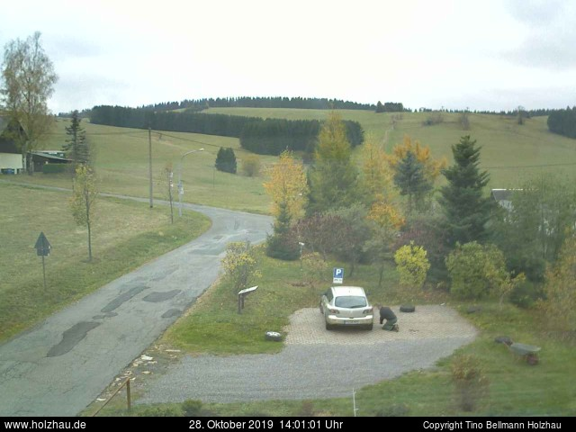 Holzhau Webcam 28.10.2019