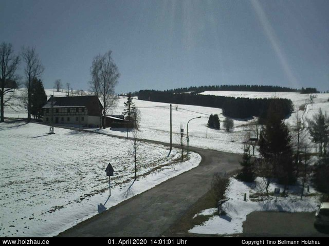 Holzhau Webcam 01.04.2020