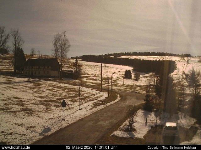 Holzhau Webcam 02.03.2020