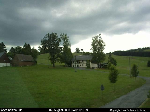 Wetter am 02.08.2020 in Holzhau (Erzgebirge)