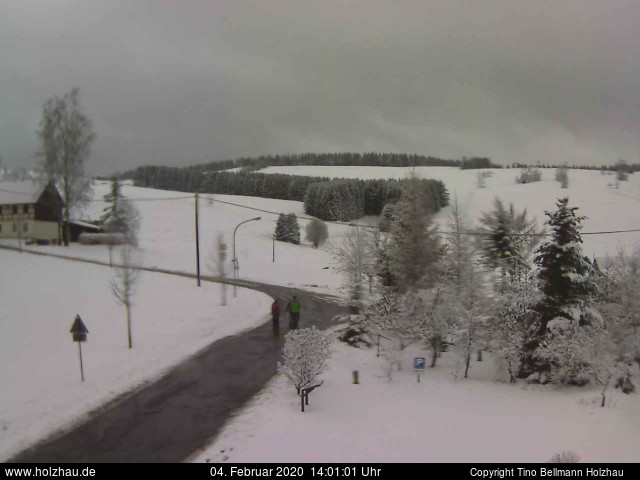 Holzhau Webcam 04.02.2020