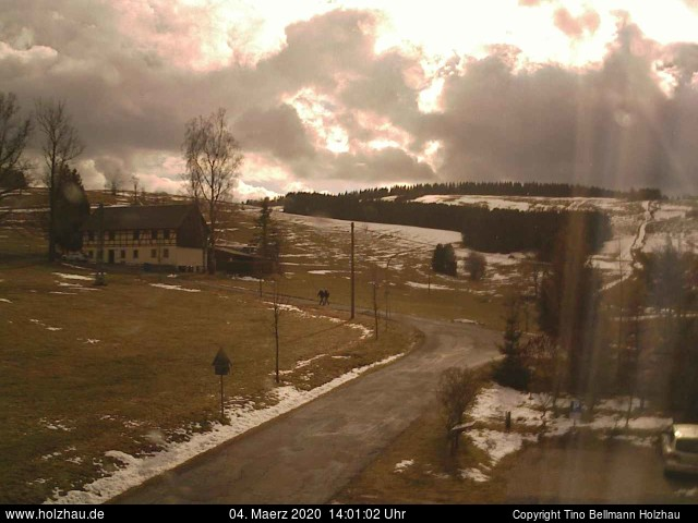 Holzhau Webcam 04.03.2020