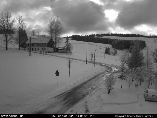 Holzhau Webcam 05.02.2020