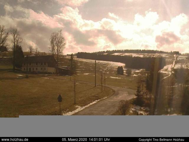 Holzhau Webcam 05.03.2020
