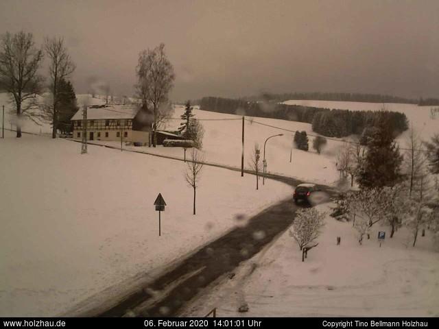 Holzhau Webcam 06.02.2020